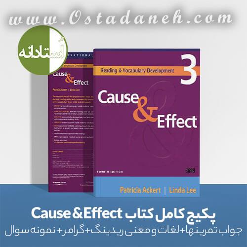 زبان عمومی دانلود راهنمای کتاب Cause & Effect ویراست چهارم مجموعه کامل
